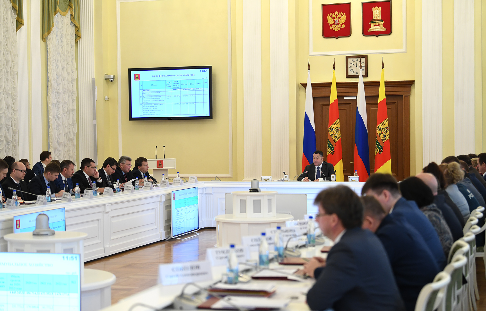 В адресную инвестиционную программу Тверской области включено 35 объектов ЖКХ