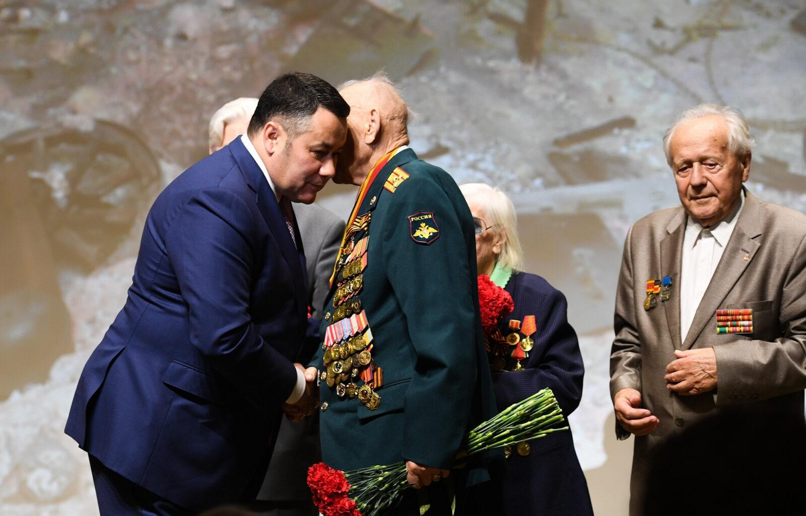 В Твери прошёл специальный показ военной драмы «Ржев»