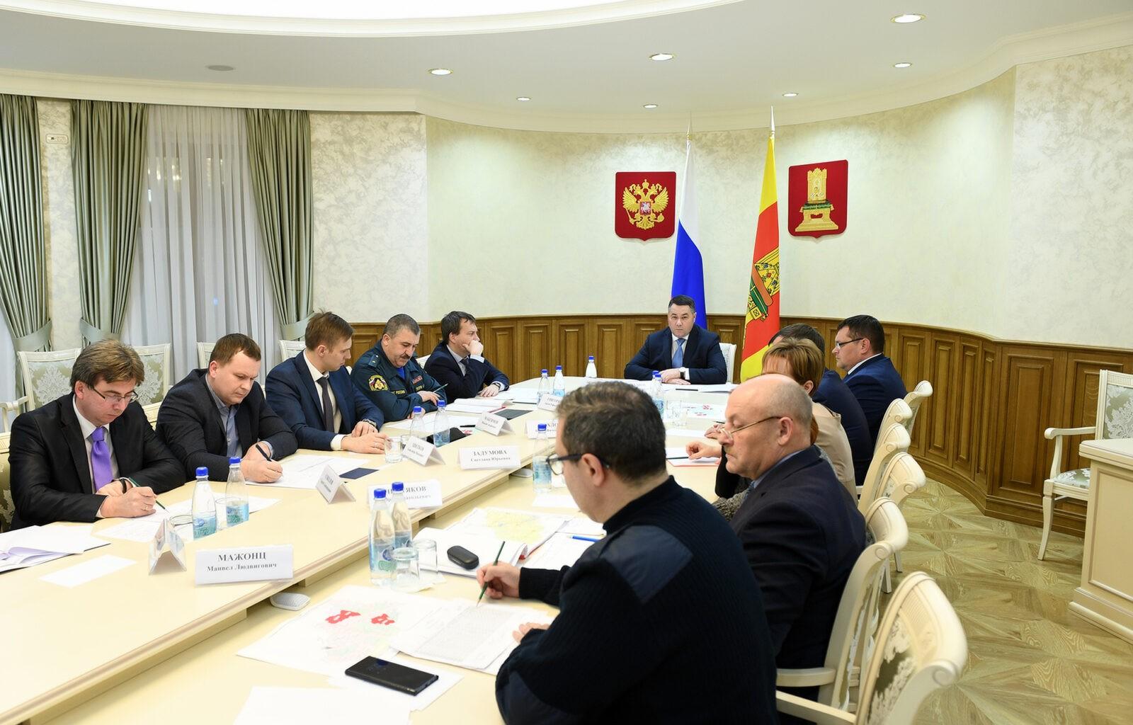 В Тверской области восстановлено электроснабжение основной сети