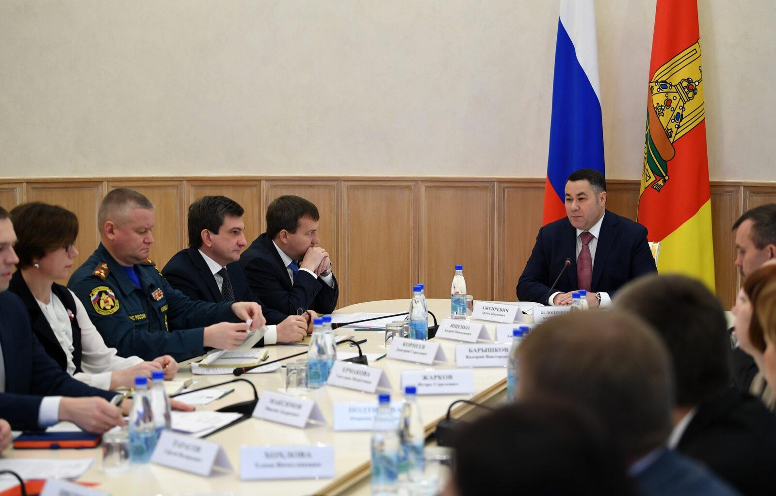 В Тверской области обсудили подготовку к празднованию 75-летия Победы