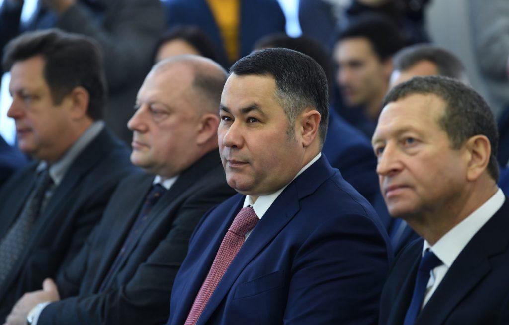 Игорь Руденя вручил награды лучшим работникам ЗАО «Калининское»