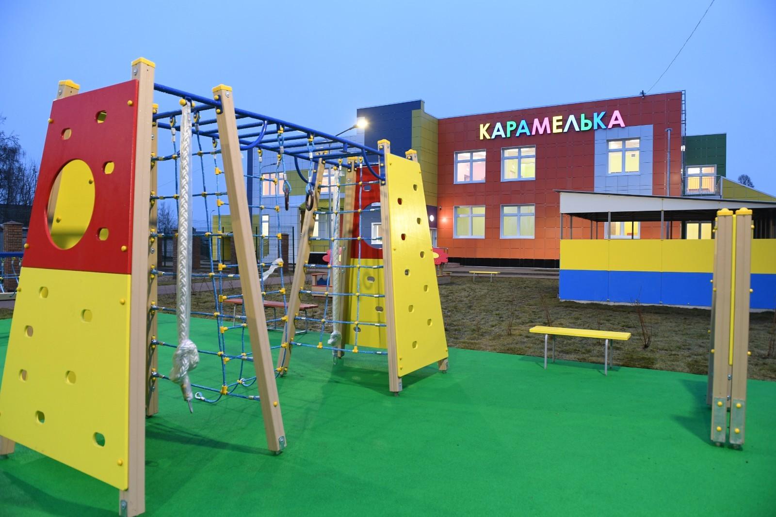 Игорь Руденя проверил готовность нового детского сада в Старице