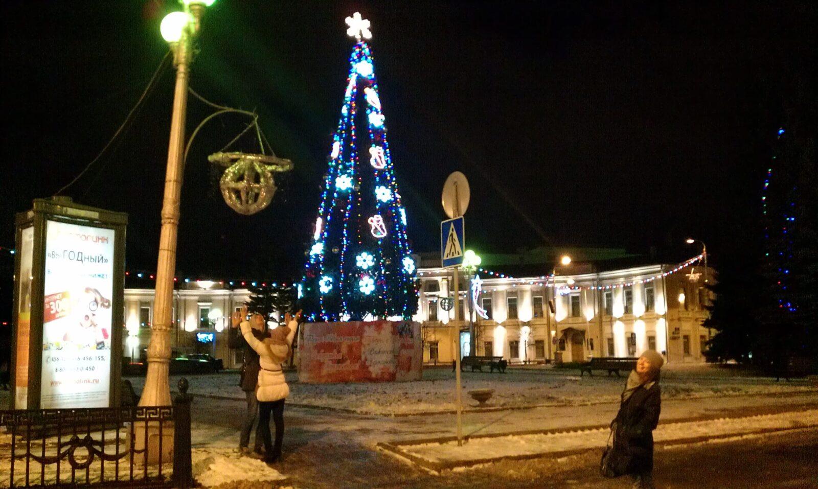 Новогодние виды Твери покажут на выставке в Москве