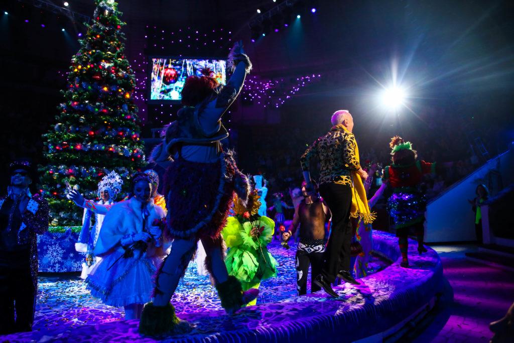 Цирковая сказка «Новогодние приключения принцессы»: уникальное шоу Гии Эрадзе можно увидеть в Твери