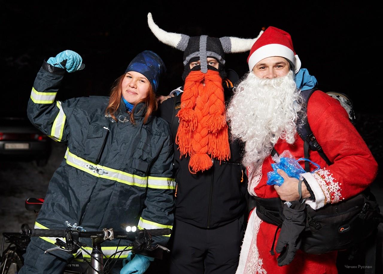 Деды Морозы поедут по Твери на велосипедах