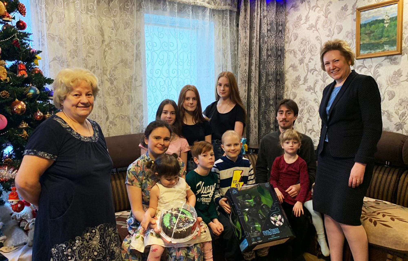 В Тверской области исполнилось новогоднее желание 11-летнего Вани Гавришкив