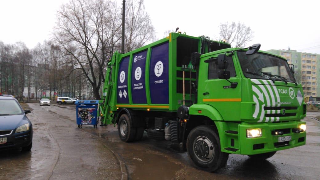 В Тверской области начали устанавливать новые контейнеры для мусора