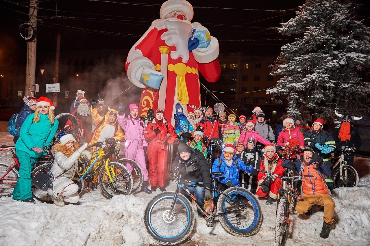 Велопробег Дедов Морозов пройдет в центре Твери