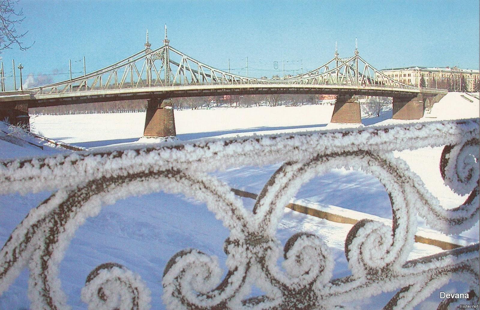 Природа подарит на Новый год жителям Твери снег