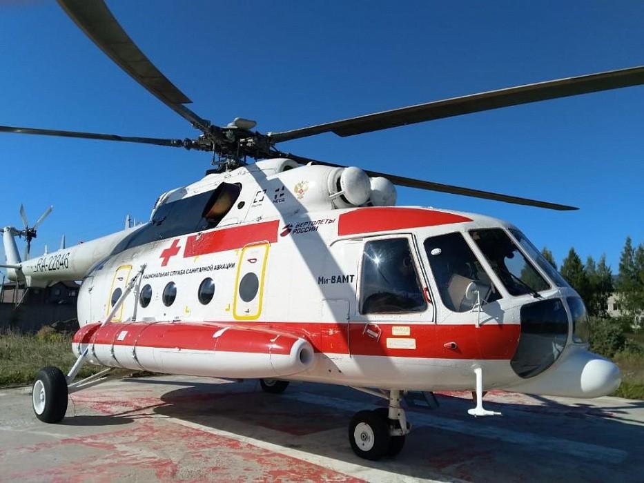 Вертолеты санавиации помогли спасти 240 жителей Тверской области