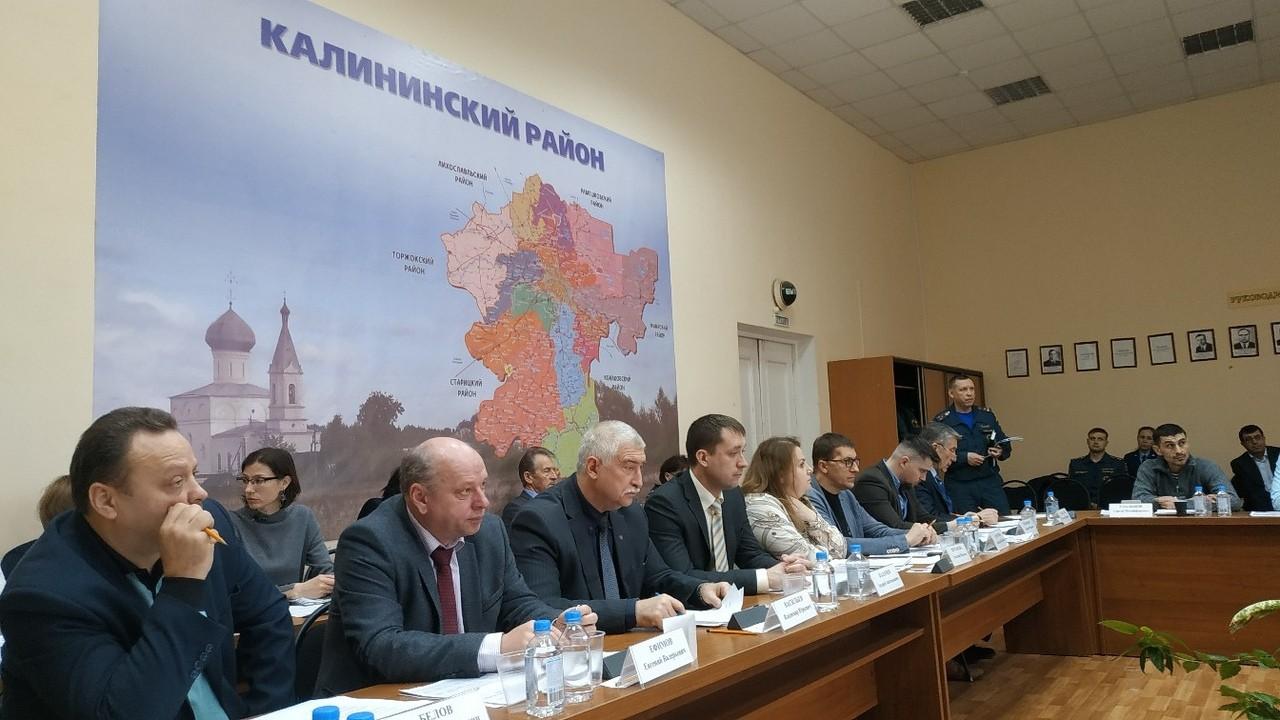 Депутаты Калининского района обсудили бюджет на будущий год