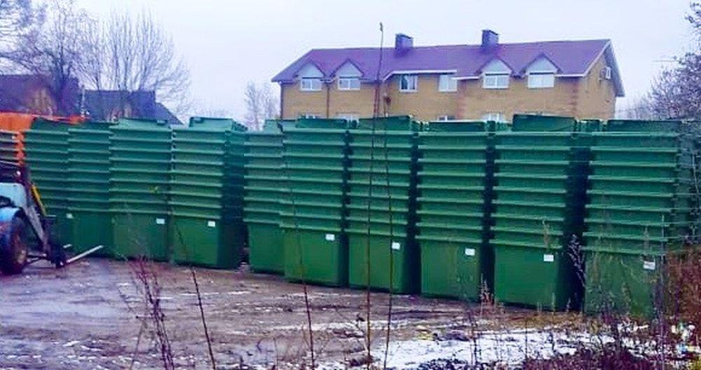 В Тверскую область поступили еще 500 новых евроконтейнеров