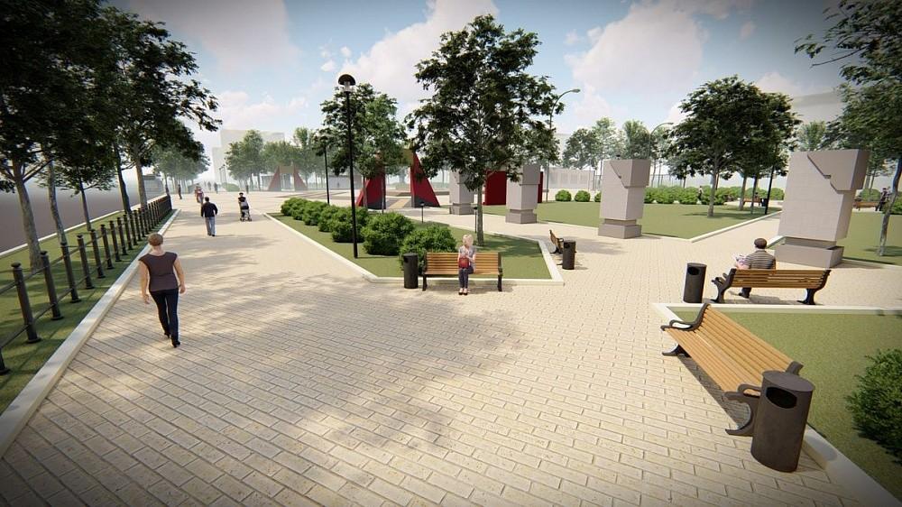 В Лихославле выберут оформление парка 70-летия Победы