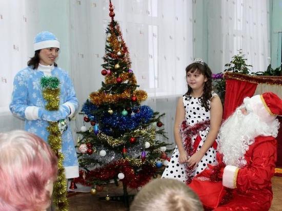 В Андреаполе начался сезон праздничных елок