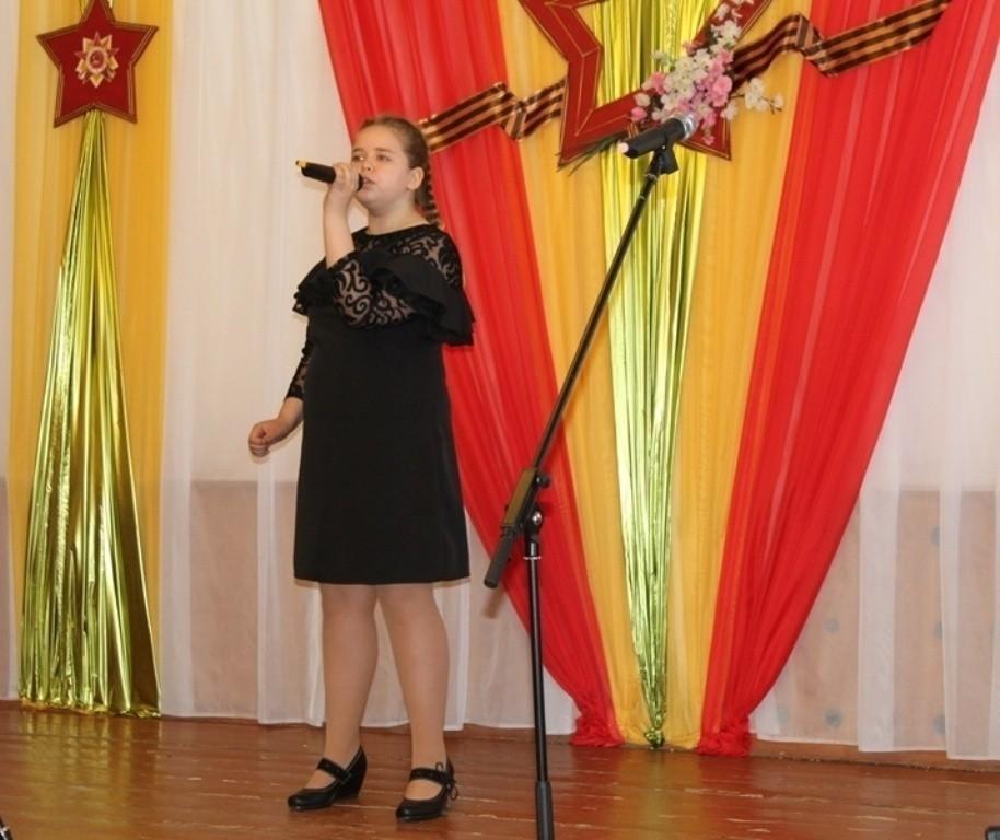 Юные таланты проявили себя на фестивале патриотической песни
