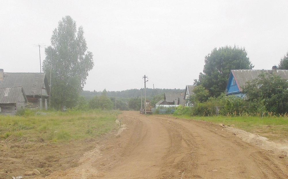 В Жарковском отремонтировали дороги