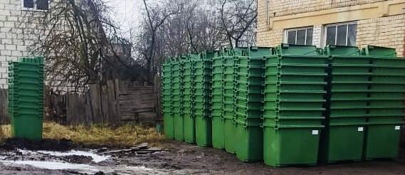 В Тверь поступило более 5000 новых евроконтейнеров для сбора отходов