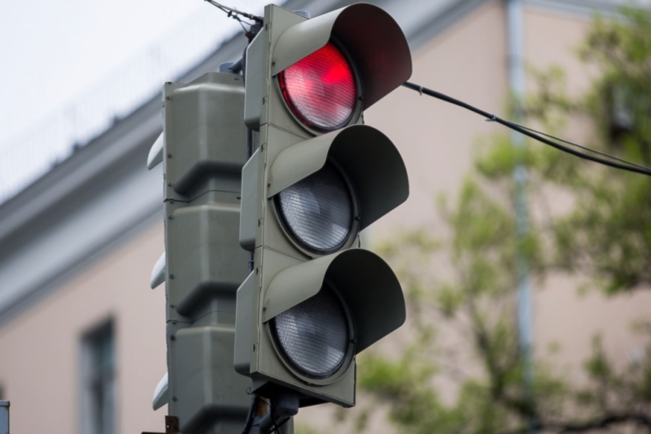 На проспекте в Твери не работает светофор