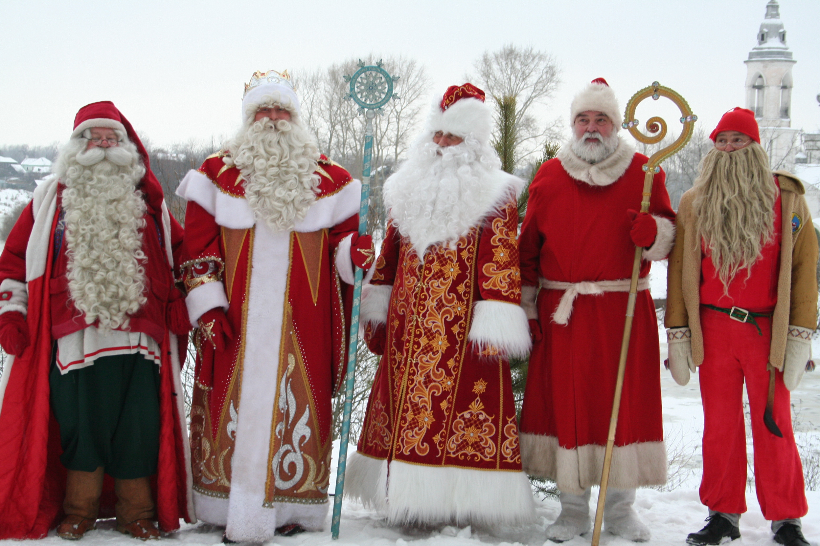 В Тверской области соберутся Деды Морозы из разных стран
