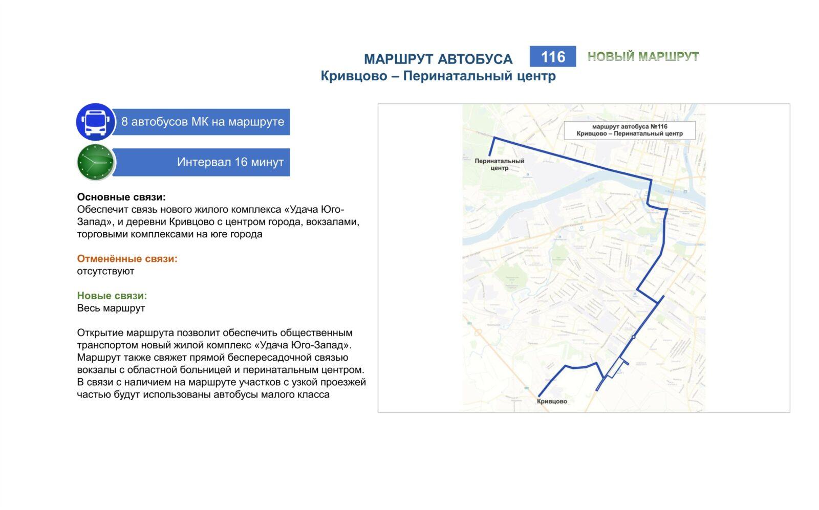 Новые маршруты общественного транспорта Твери в картинках
