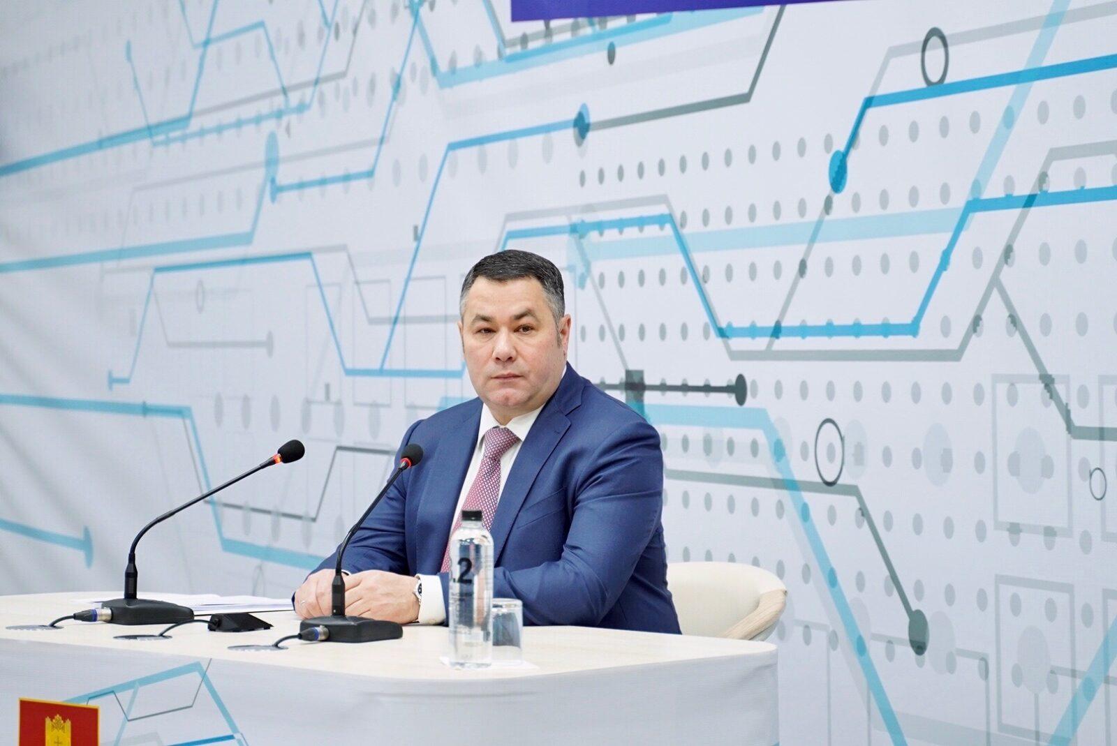 Игорь Руденя ответил на вопрос о газификации сельских поселений Старицкого района