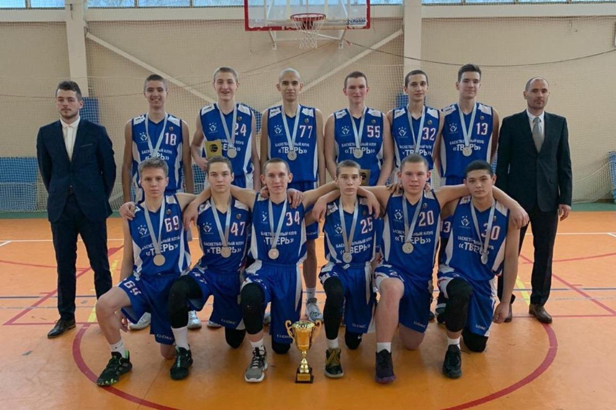 Тверские баскетболисты вернулись домой с серебряными медалями