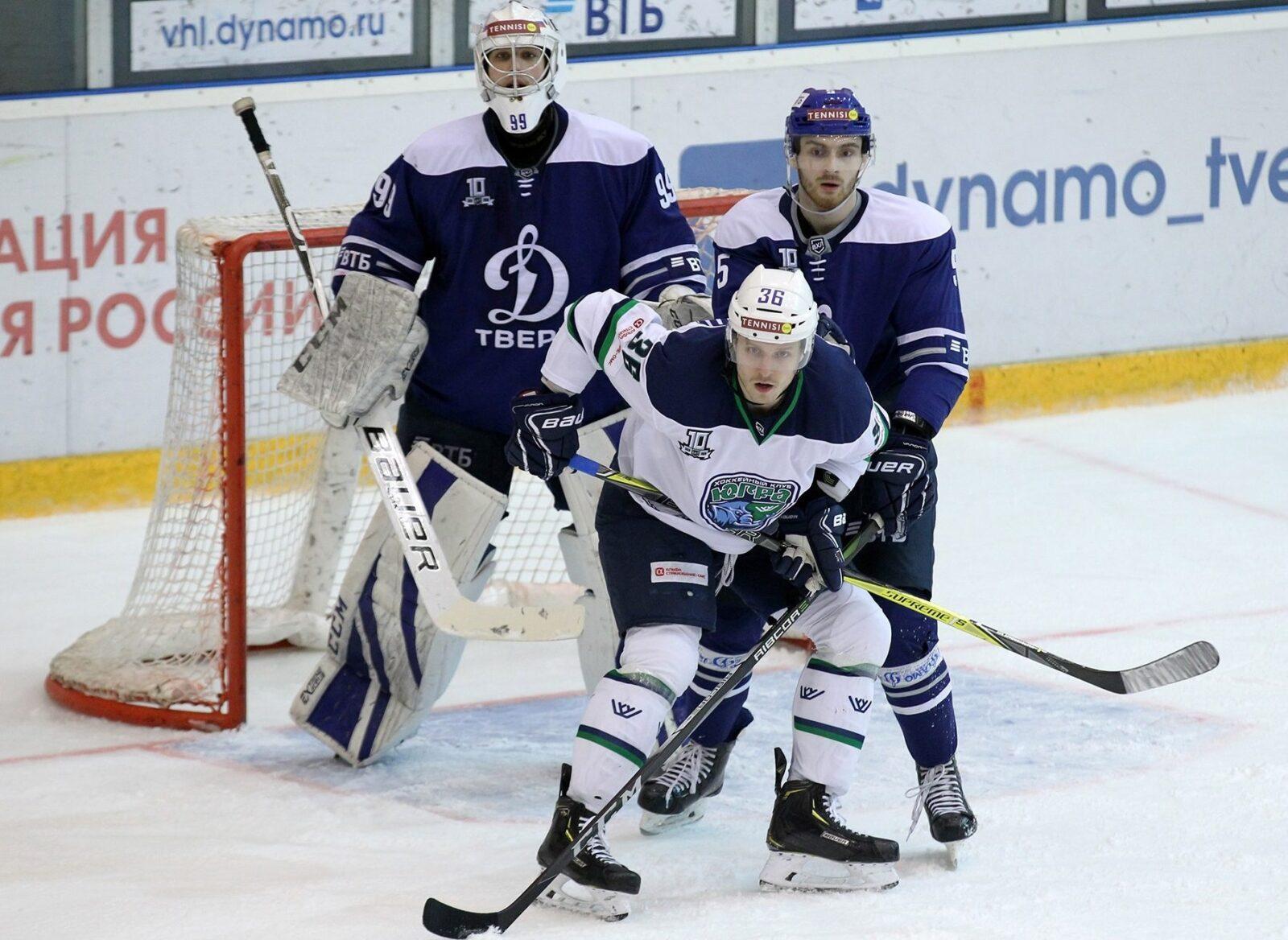 В Твери можно побывать на матчах чемпионата Высшей хоккейной лиги