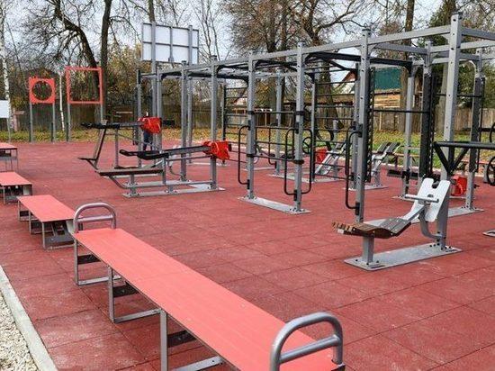 В Лихославле откроют специальную спортивную площадку