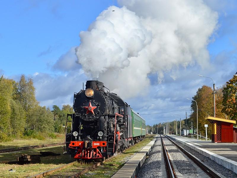 В новогодние каникулы по Тверской области можно прокатиться на паровозе