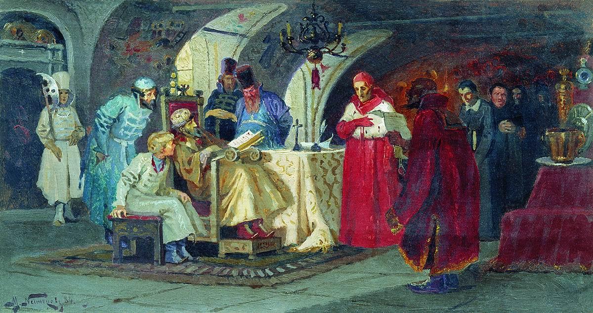Как папские послы в Старице пытались склонить Ивана Грозного сменить веру