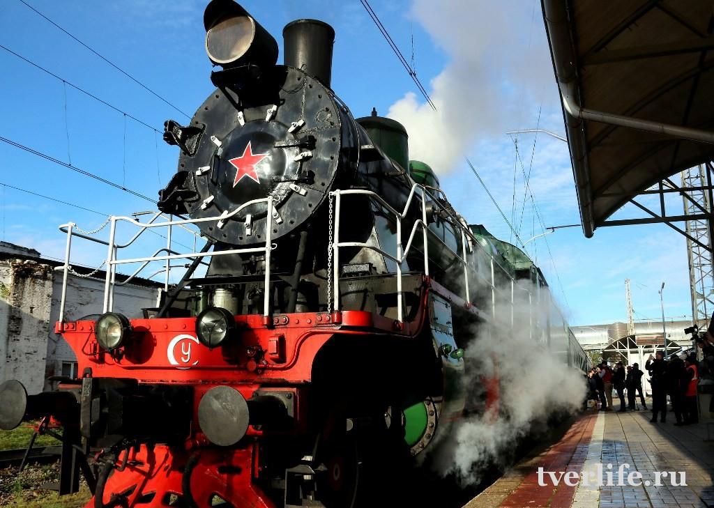 Ретропоезд «Селигер» в новогодние праздники сделает три дополнительных рейса
