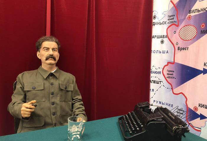 В Твери можно увидеть Ленина, Сталина и Джека Воробья