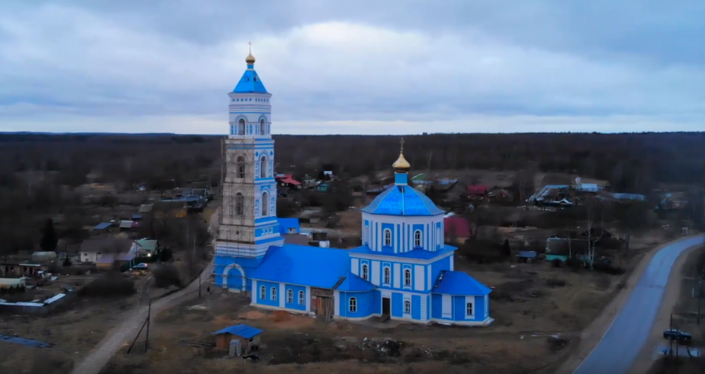 В селе Пушкино восстанавливают церковь Успения