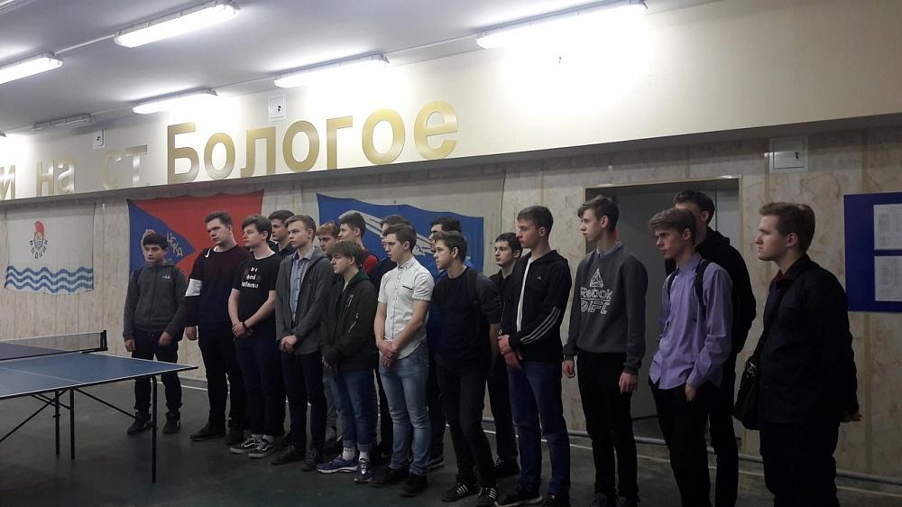 Студенты в Тверской области узнали о тонкостях профессии транспортного полицейского
