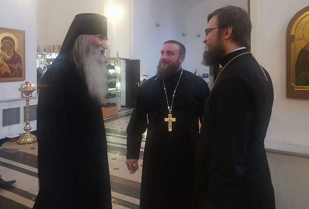 Монах Герой Советского Союза посетил Тверь