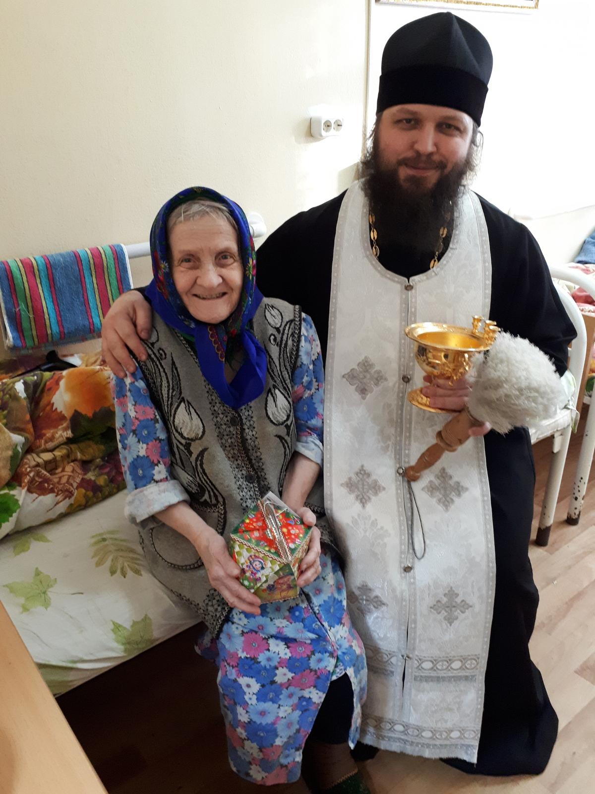 В Твери дом для престарелых окропили святой водой