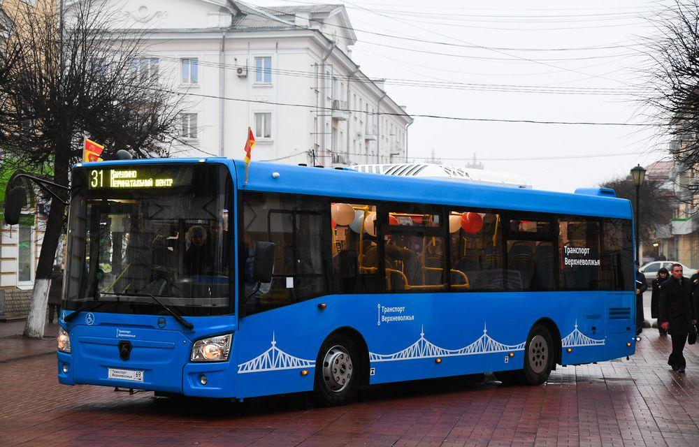 Новые автобусы, по каким маршрутам они поедут в Твери
