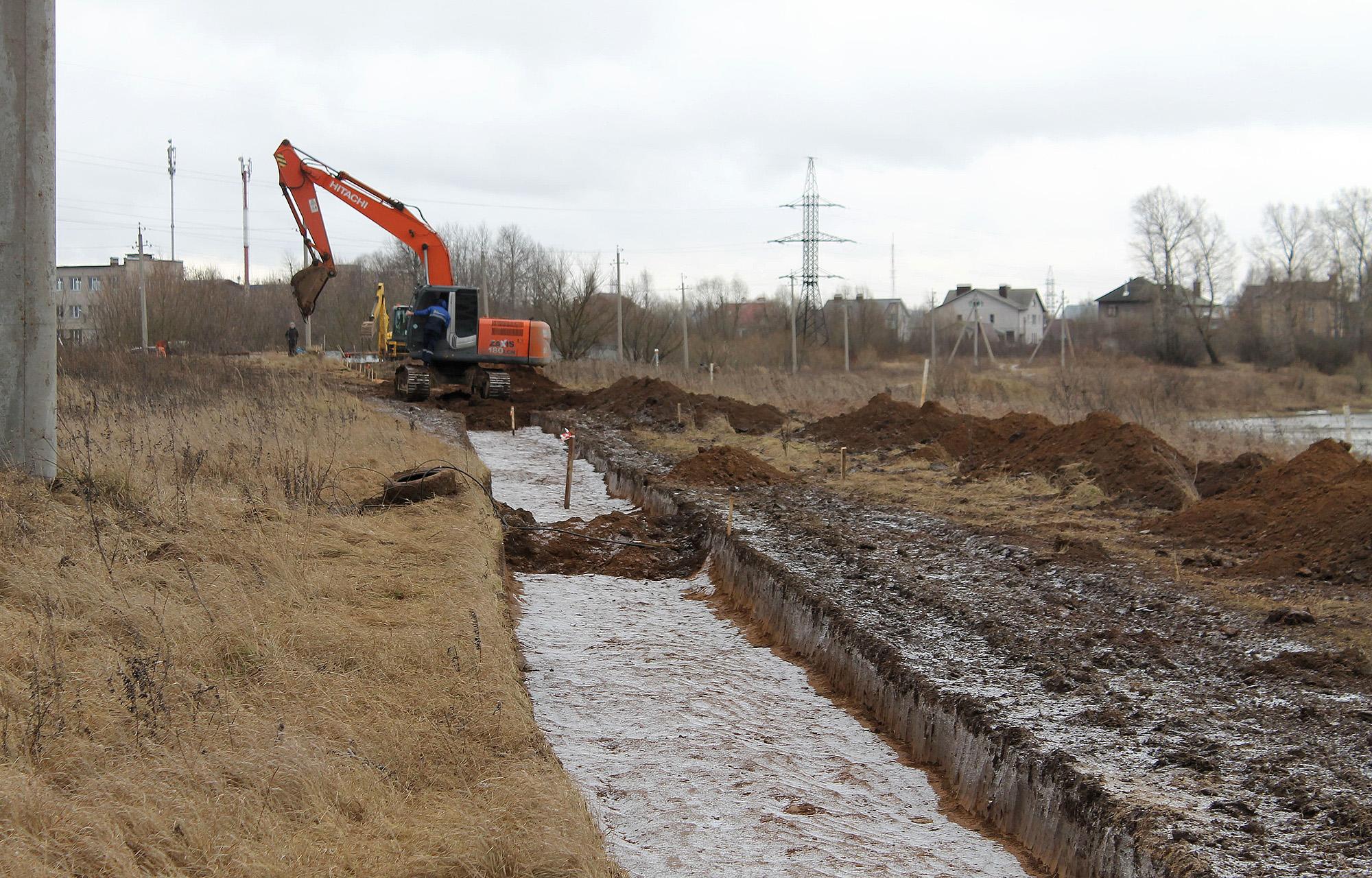 В Твери модернизируют водовод, который снабжает город питьевой водой