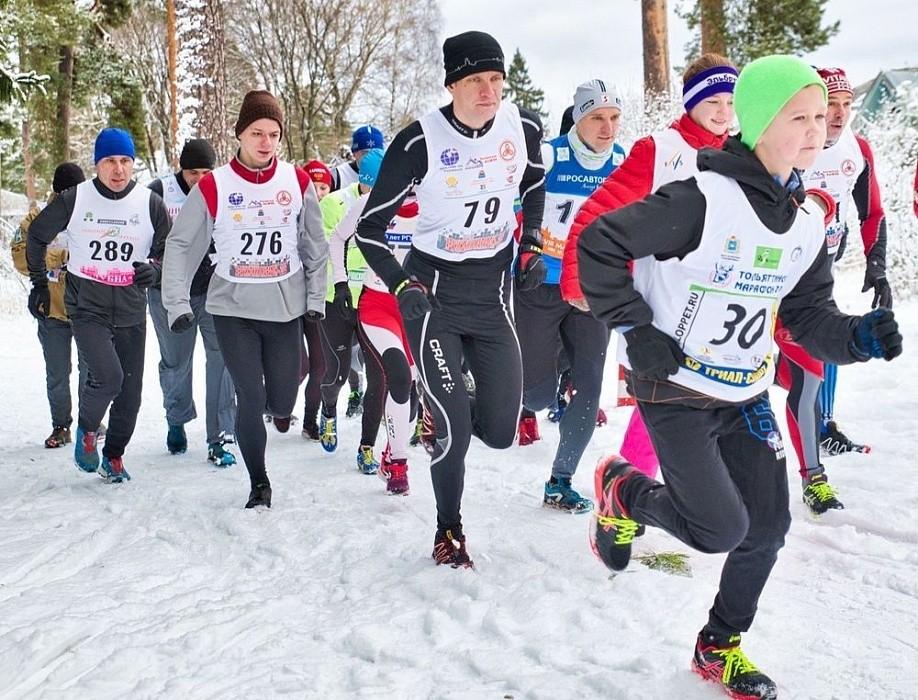 В Конаковском районе прошли соревнования по зимнему триатлону