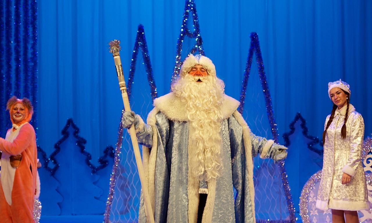В Кимрах прошла Рождественская елка