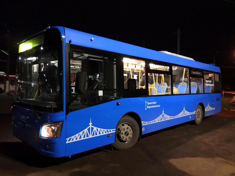 В феврале в Твери и Калининском районе на линии выйдут современные автобусы