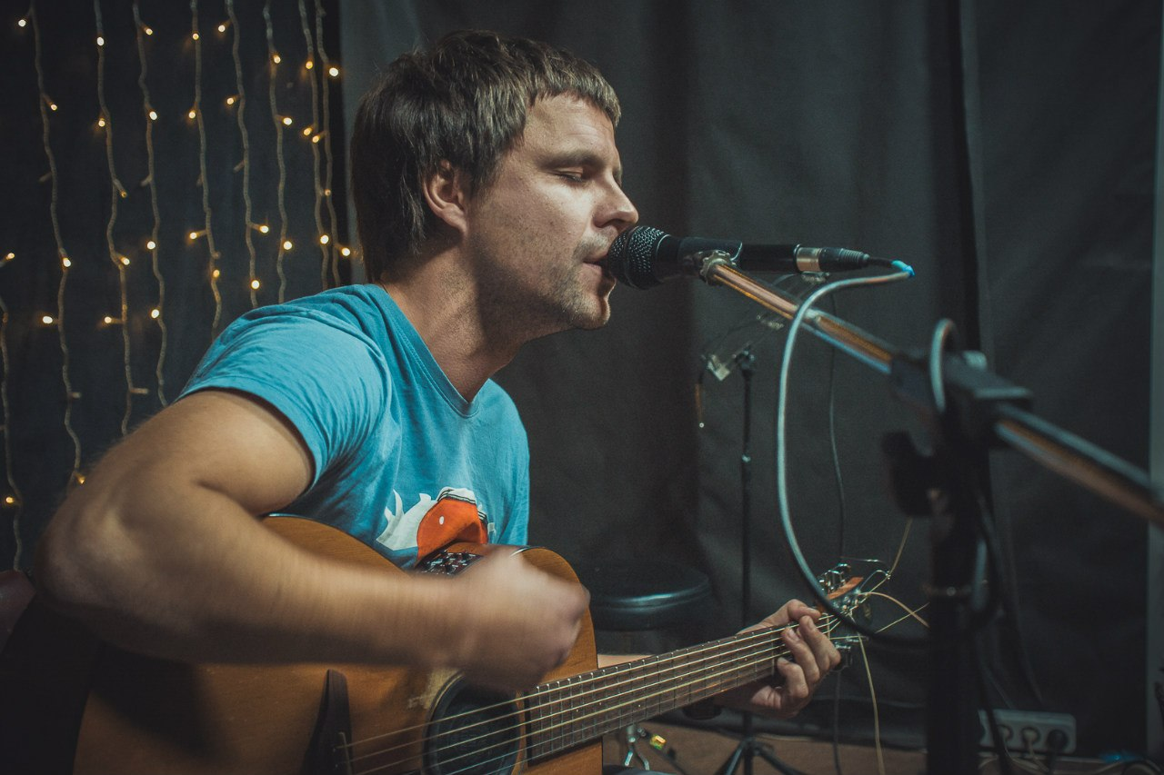 Алексей Вдовин споет свои песни в Твери