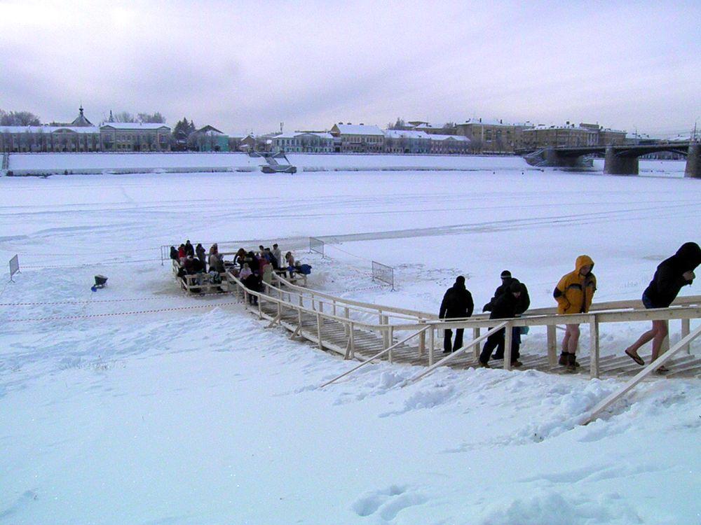 Для праздника Крещения в Тверской области организуют 40 мест для купания