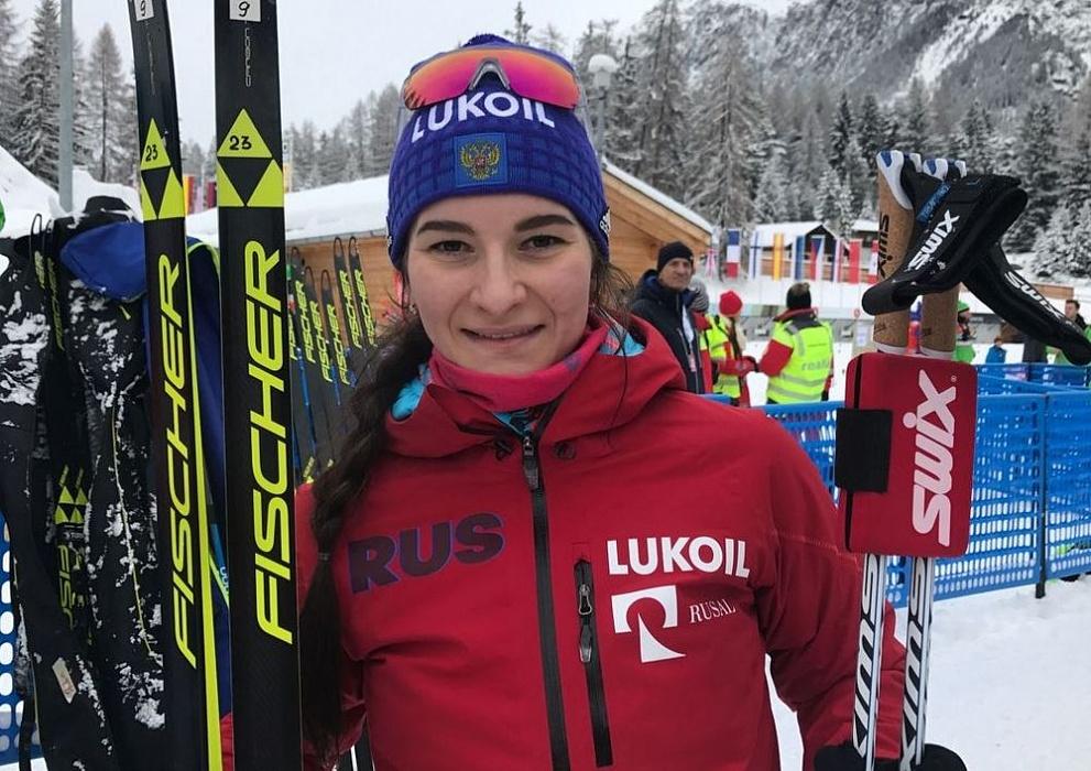 Тверская лыжница Наталья Непряева завоевала золото на этапе Кубка мира