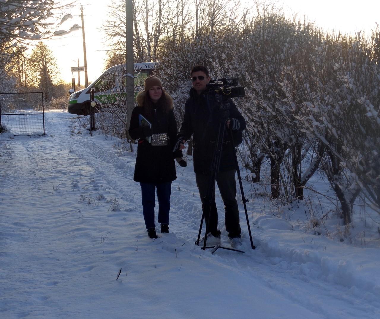 Телеканал Russia Today снял сюжет о тверских рысях