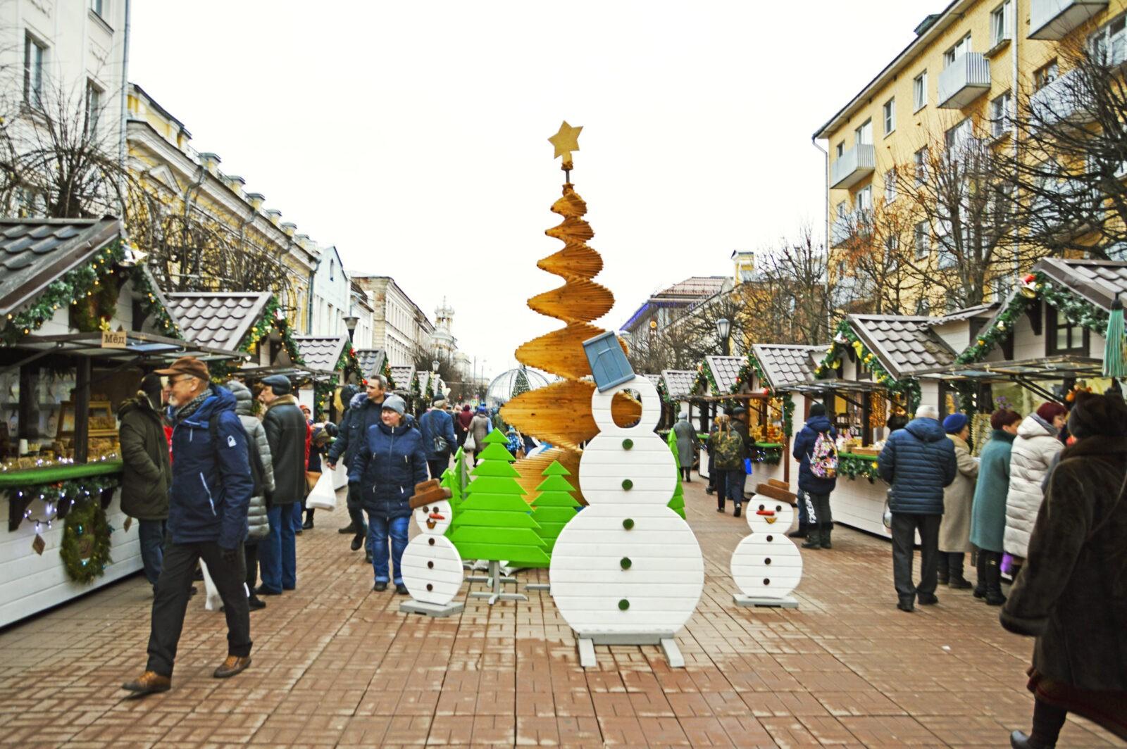 Сегодня в Твери последний день работает Рождественская ярмарка