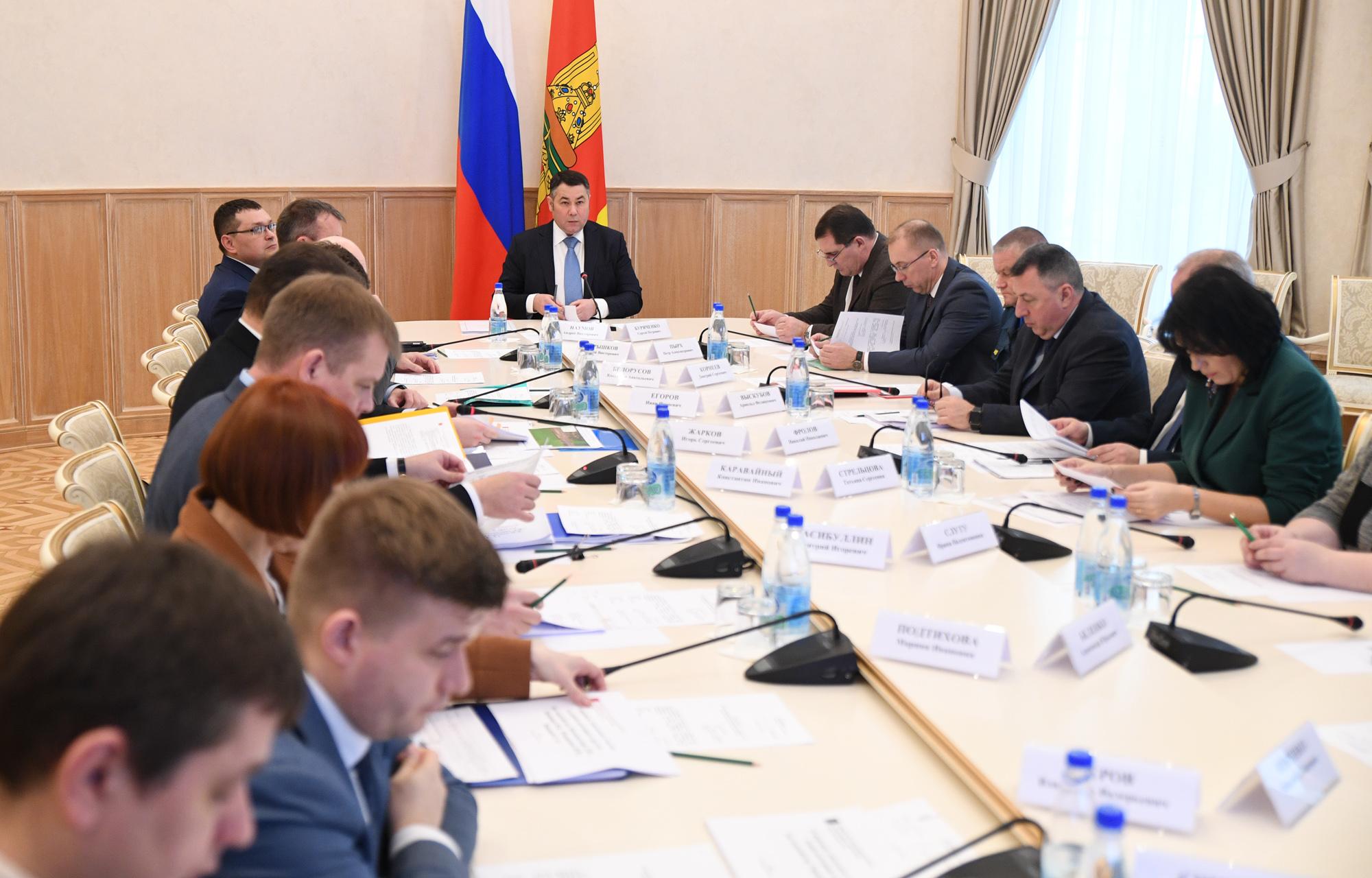 В Калининском районе Тверской области выделен участок для реализации нового инвестпроекта - создания складского комплекса