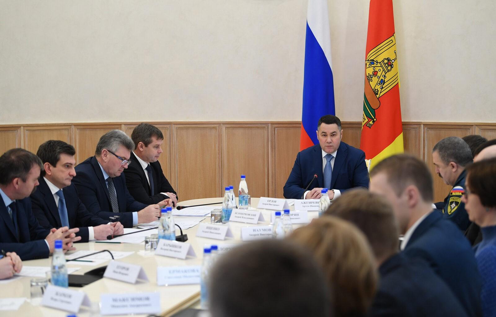 Игорь Руденя обозначил ключевые направления работы в Тверской области в 2020 году