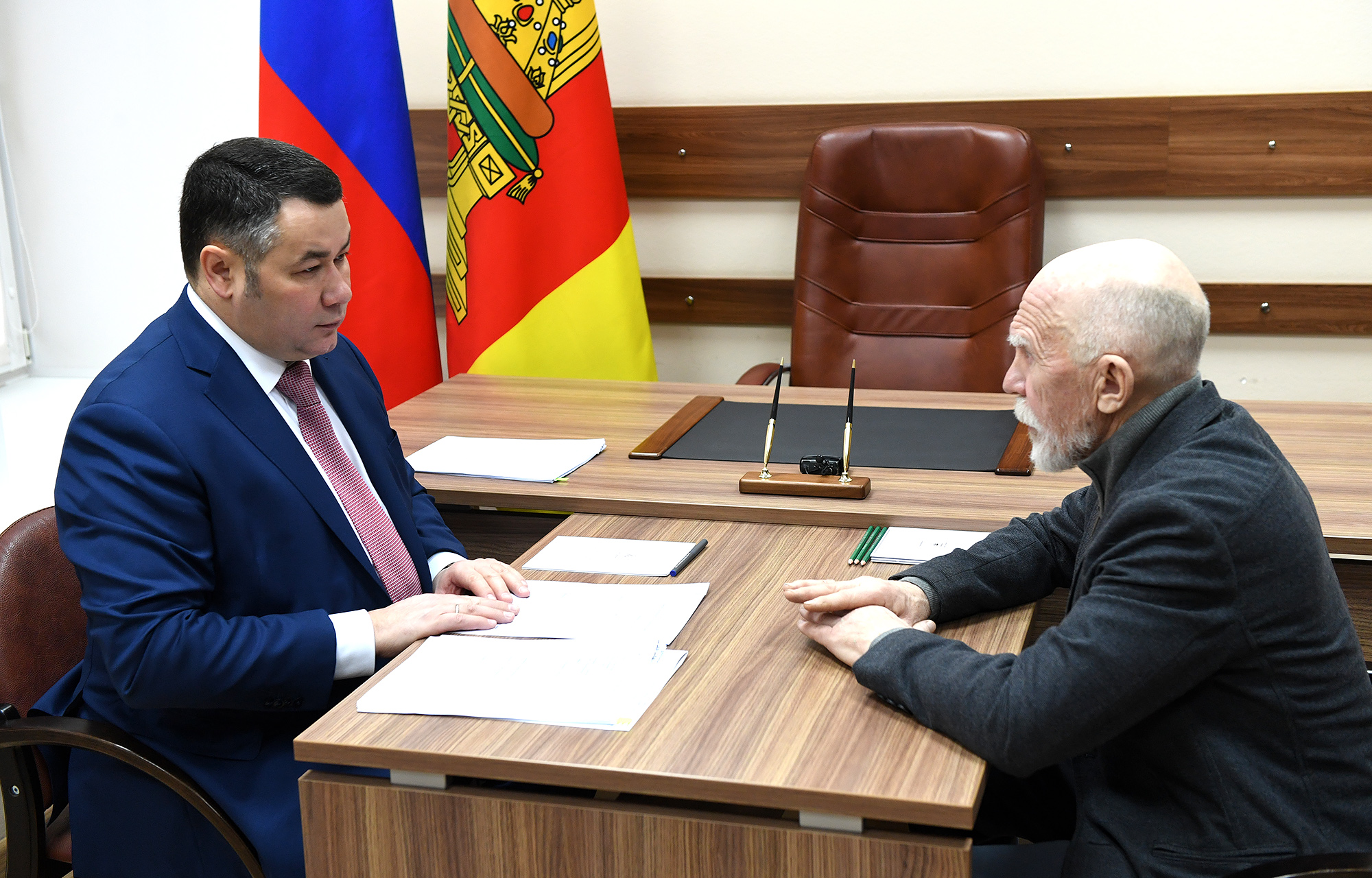 Игорь Руденя провел личный прием граждан