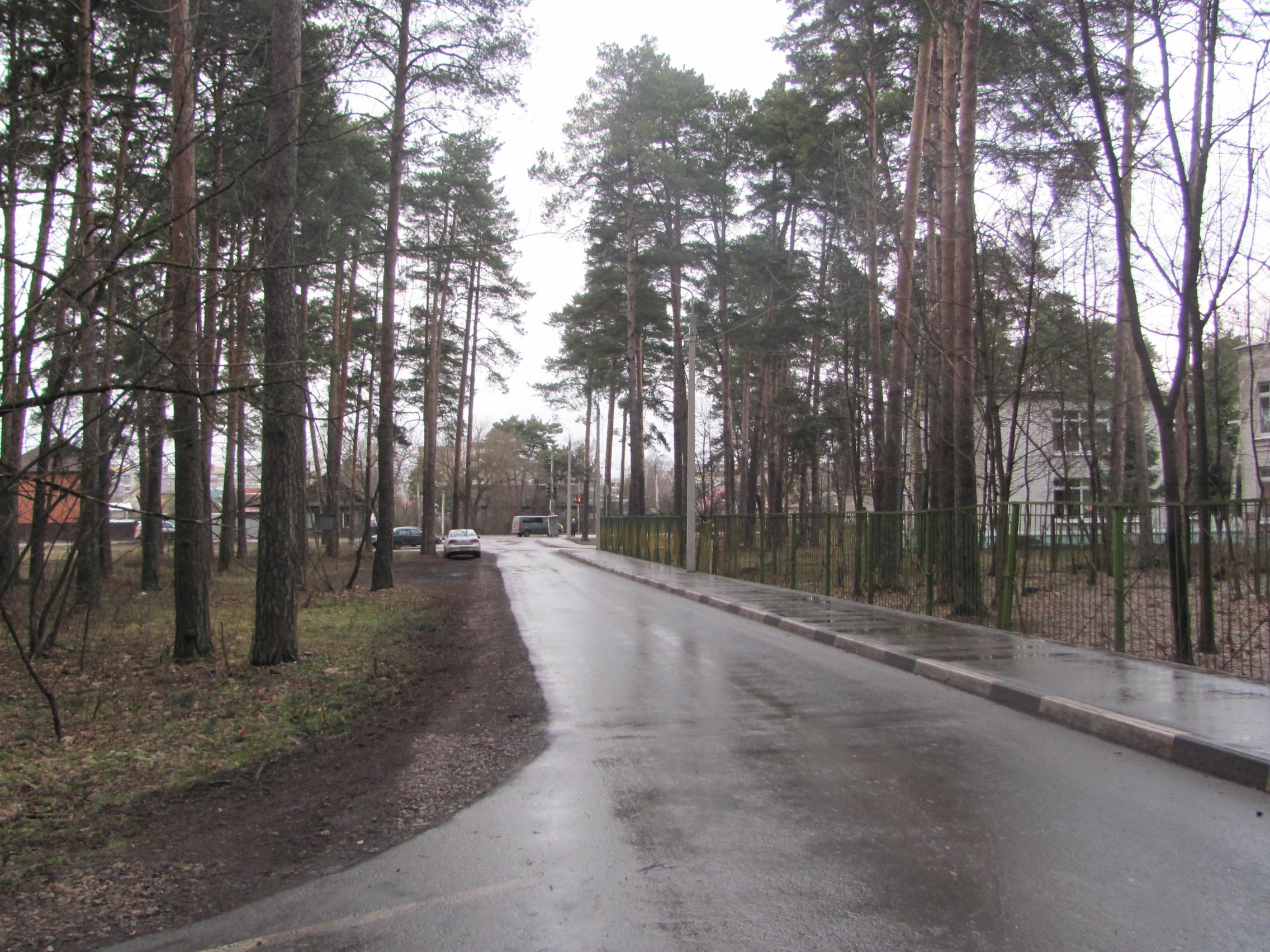 Как к тверскому дому престарелых построили хорошую дорогу